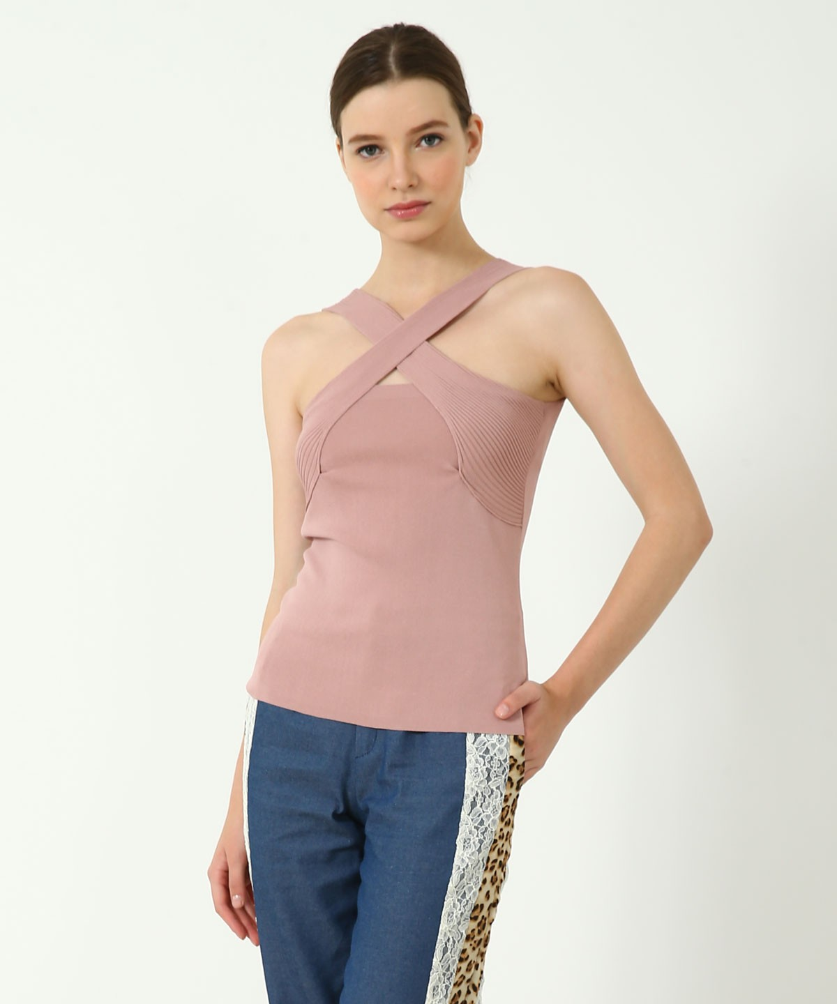 Chelsea Knitted Sleeveless Top