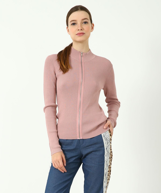 Marina Knitted Long Sleeves Top (Pink)
