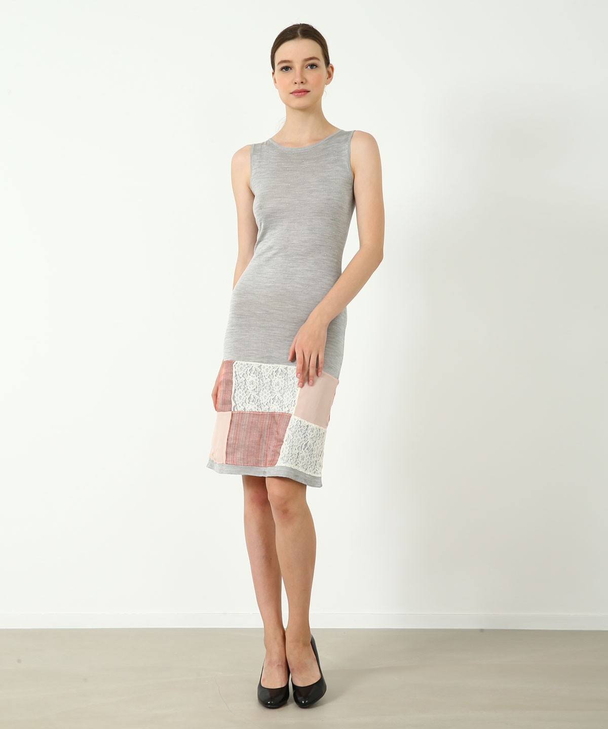 Juliette Luxe Silk Dress - Knitted