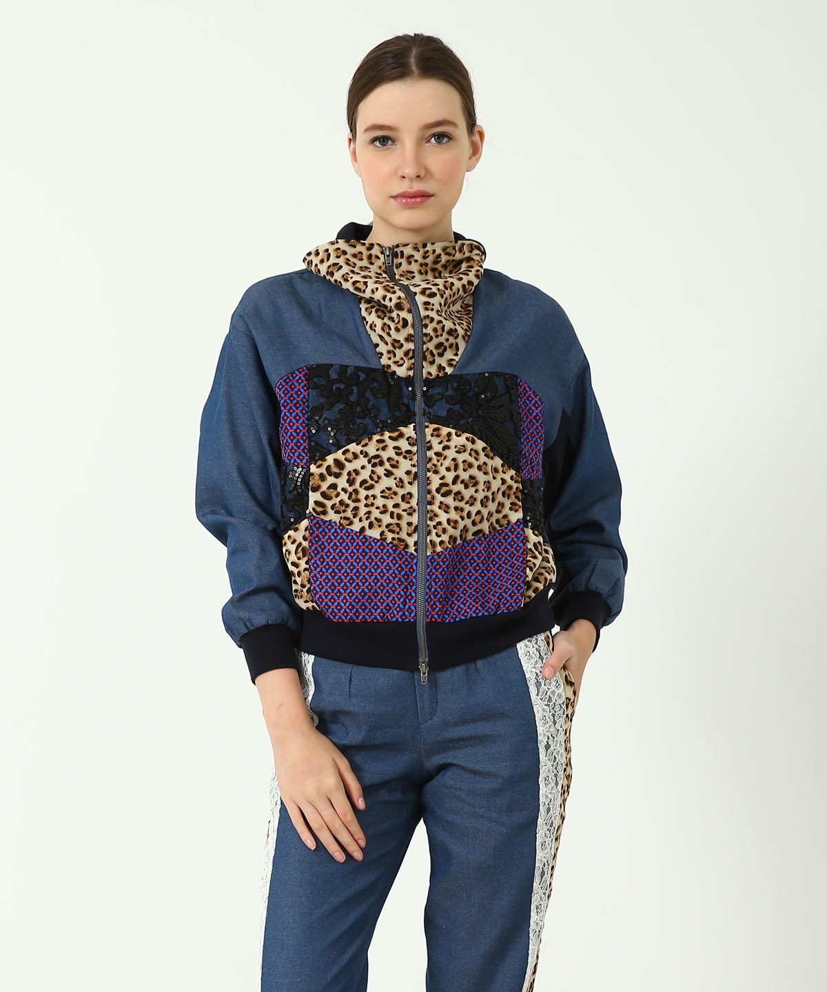 Nomad Patchwork Sports Jacket