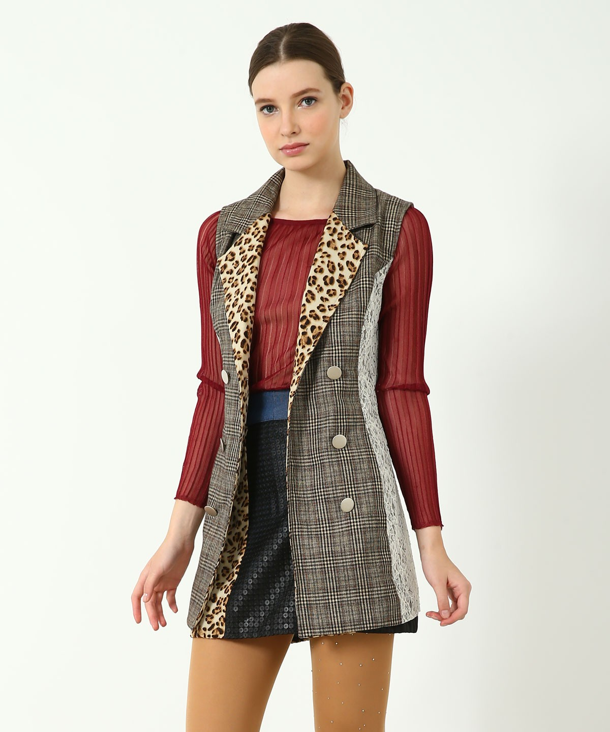 Spencer Sleeveless Coat