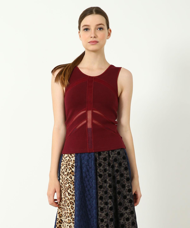 Oneness Deluxe Sports Top - Knitted Tencel - Shelf Bra
